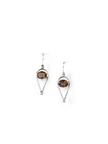 Fabindia Women Anusuya Silver Earrings