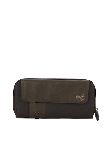 Baggit Women Bleed Taj Brown Wallet