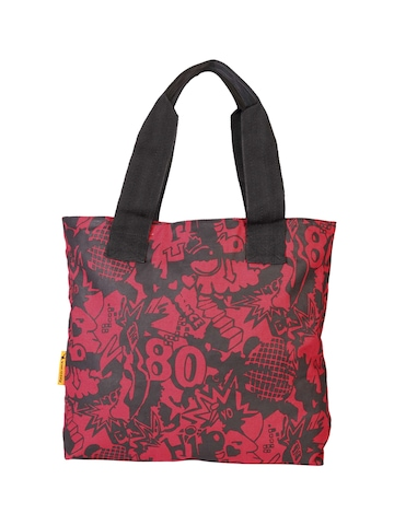 Fastrack Women Red Tote Bag