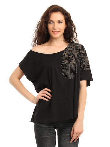 French Connection Women Black Top