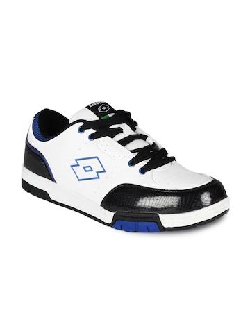 Lotto Men White Skateboard Shoes
