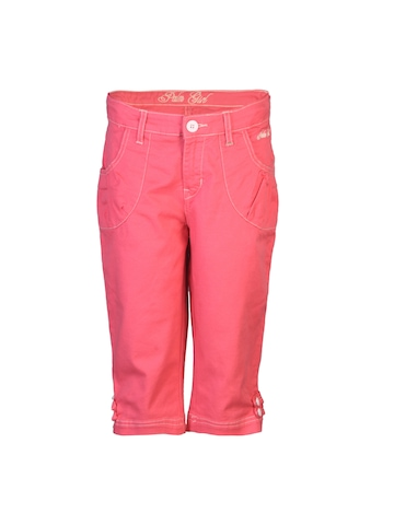 Gini and Jony Girls Woven Pink Pedal Pusher