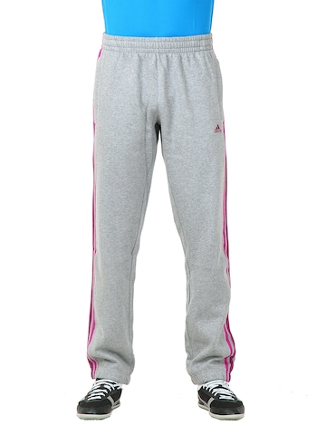 Adidas Men Grey Track Pants