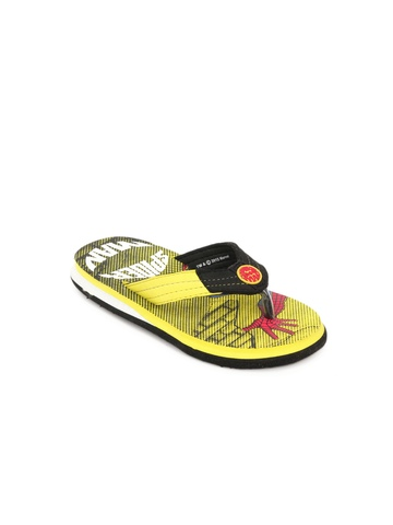 Marvel Boys Yellow Flip Flop