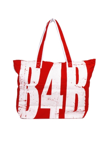 Be For Bag Women Red Tote Bag