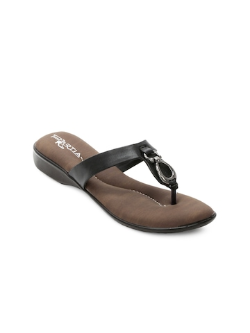 Portia Women Black Flats