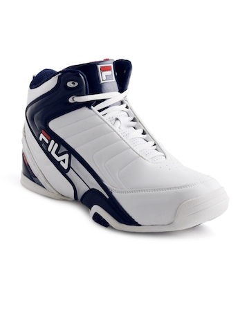 Fila Men Clutch White Sports Shoes