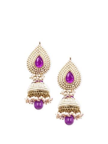 Royal Diadem Pink Earrings