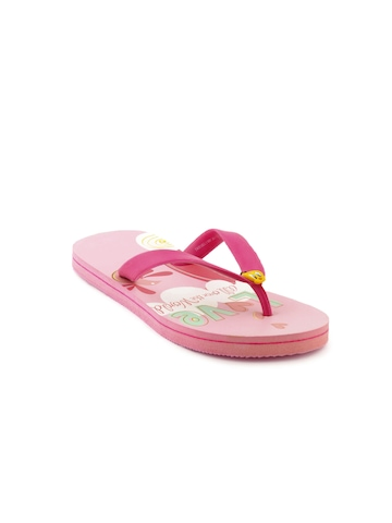 Warner Bros Kids Girls TW Love flops Pink Slippers