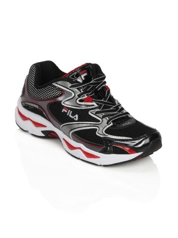 Fila Men Pursuit Black Sports Shoes