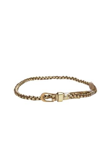 French Connection Women Golden  Belt
