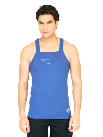 Facit Men Hunk Blue Innerwear Vest