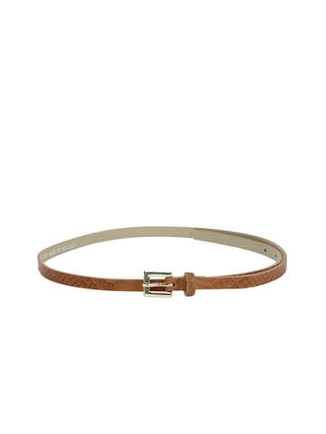 French Connection Women Tan Belt