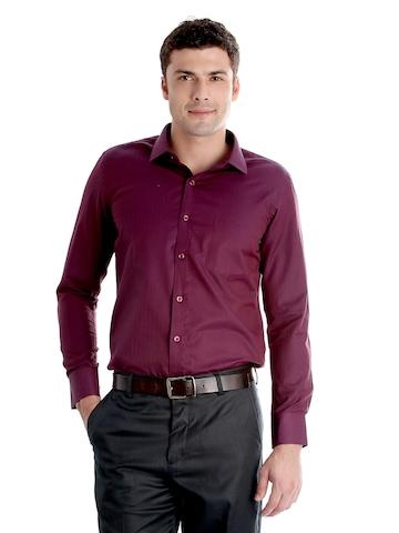 John Miller Men Purple Shirt