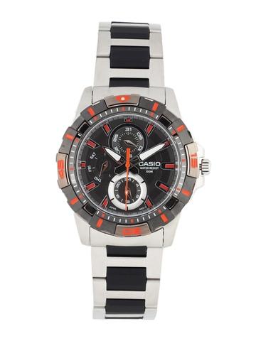 Casio Men Black Dial Chronograph Watch