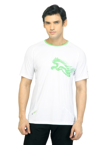 Puma Men V.11 Cat White Tshirts