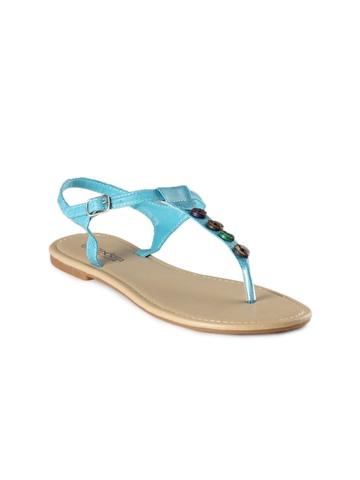 Senorita Women Blue Flats