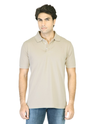 Proline Men  Beige T-Shirt