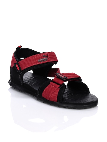 Puma Men Black Roque Sandals