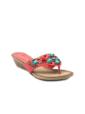Catwalk Women Red Sandals
