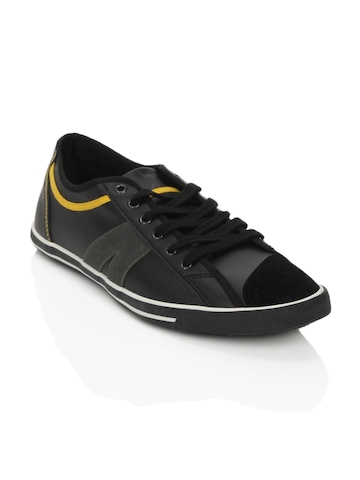 Spinn Men Black Elevate Shoes