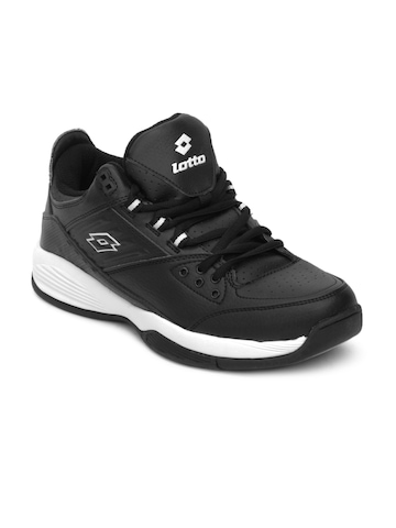 Lotto Men Black Sports Shoe