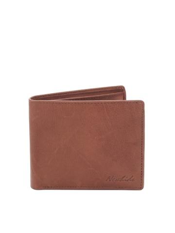 New Hide Men Brown Wallet