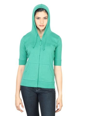 Wrangler Women Ann Green Sweatshirt