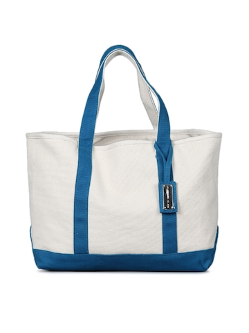 French Connection Women Beige Tote Bag
