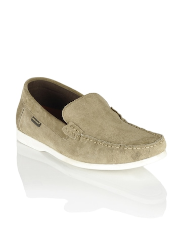 Red Tape Men Beige Shoes