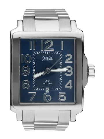 Maxima Ssteele Men Blue Watch