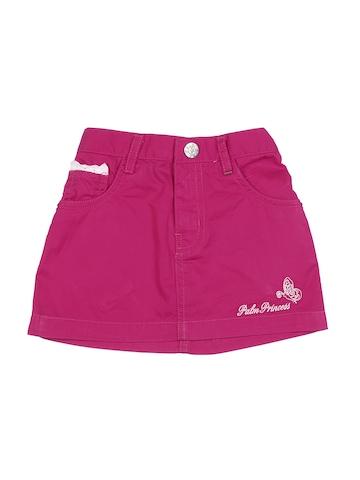 Gini and Jony Girls Pink Skirt