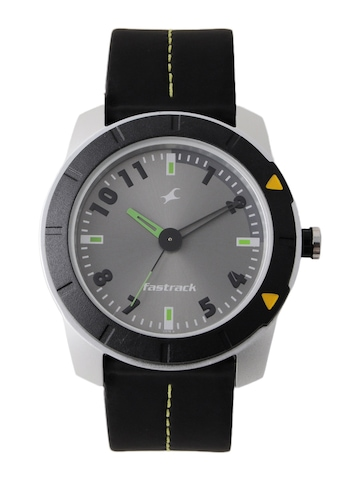 Fastrack Men Grey Dial Watch NA3015AL02