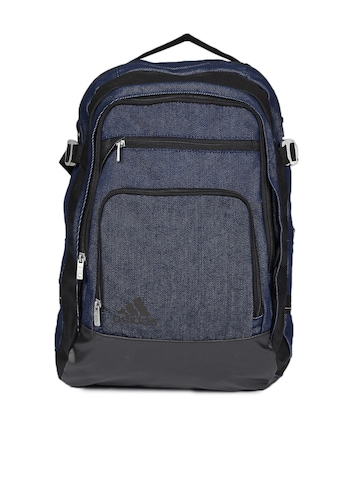 Adidas Unisex Blue Jeans Backpack