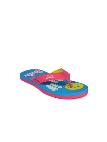 Barbie Girls Blue Flip Flops