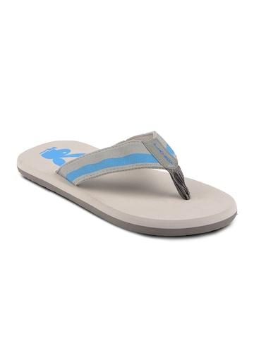 Playboy Men Grey Flip Flops