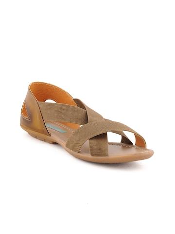 Catwalk Women Lifestyle Tan Flats