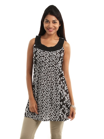Remanika Women Black Tunic