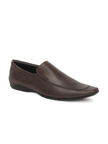 Carlton London Men Brown Formal Shoes