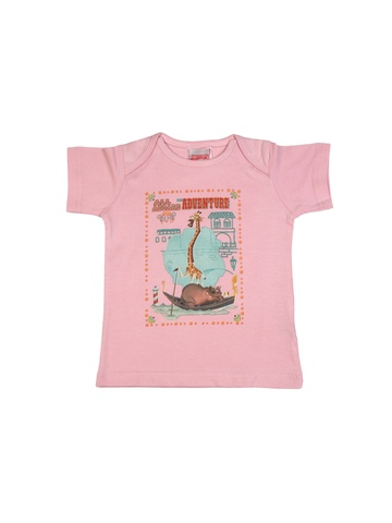 Madagascar3 Infant Girls Pink  T-Shirt
