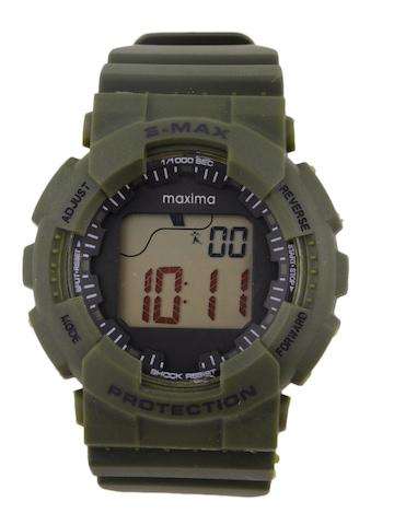 Maxima Attivo Men Olive Green Digital Watch