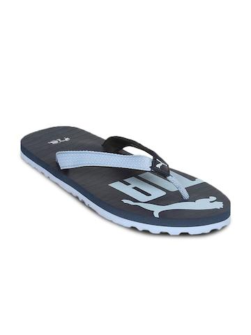 Puma Unisex MM II Blue Flip Flop