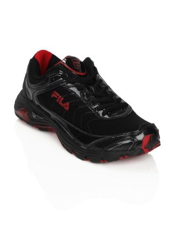 Fila Men Top Fuel Black Sports Shoes