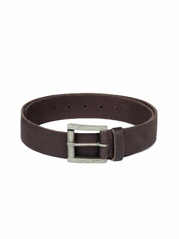 Lee Men Brown Leather Belt