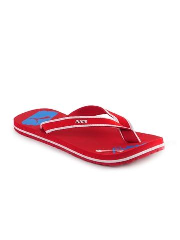 Puma Men Pop Art Red Flip Flops
