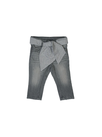 United Colors of Benetton Girls Washed Grey Jeans