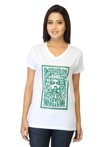 Tantra Women Jimmo White T-shirt