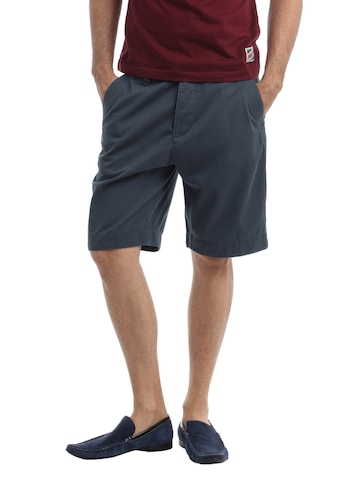 Myntra Men Blue Shorts