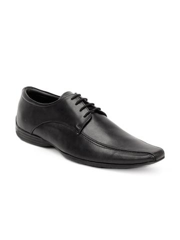 Carlton London Men Black Formal Shoes