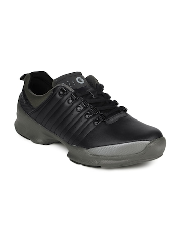 Globalite Men Black & Grey Eclipse Shoes